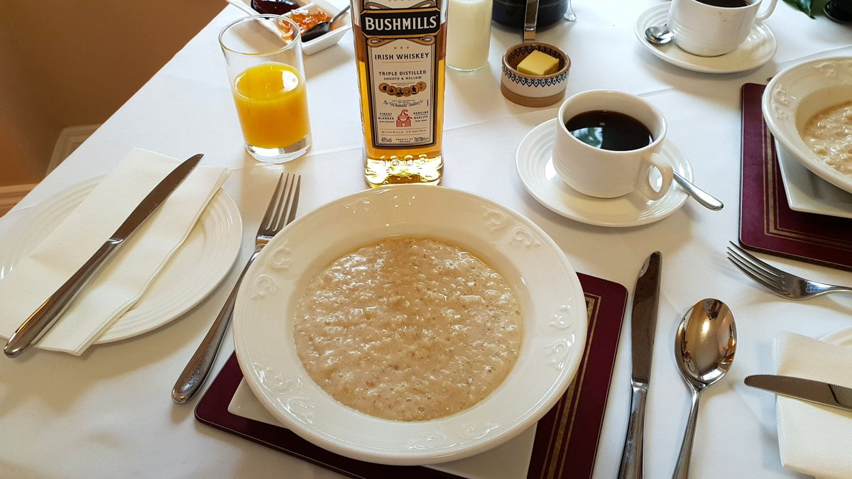 Roseleigh-House-belfast-porridge-whisky