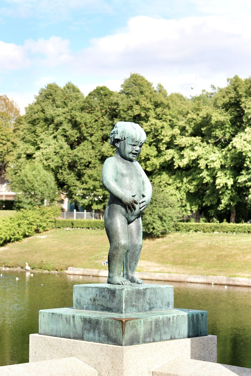 Vigeland-Skulpturenpark-kind