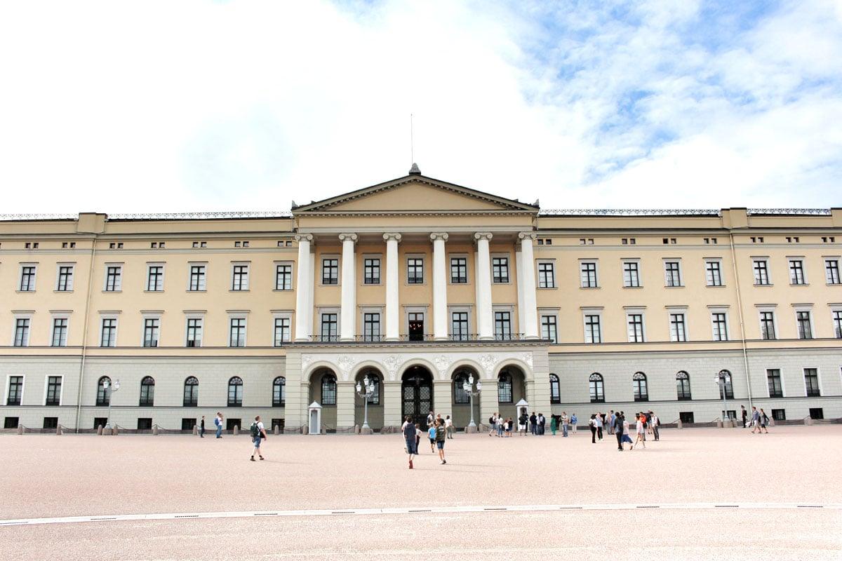 oslo-sehenswuerdigkeiten-Slottet-Oslo